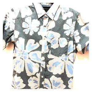 Banana Republic short sleeve Hawaiian button down